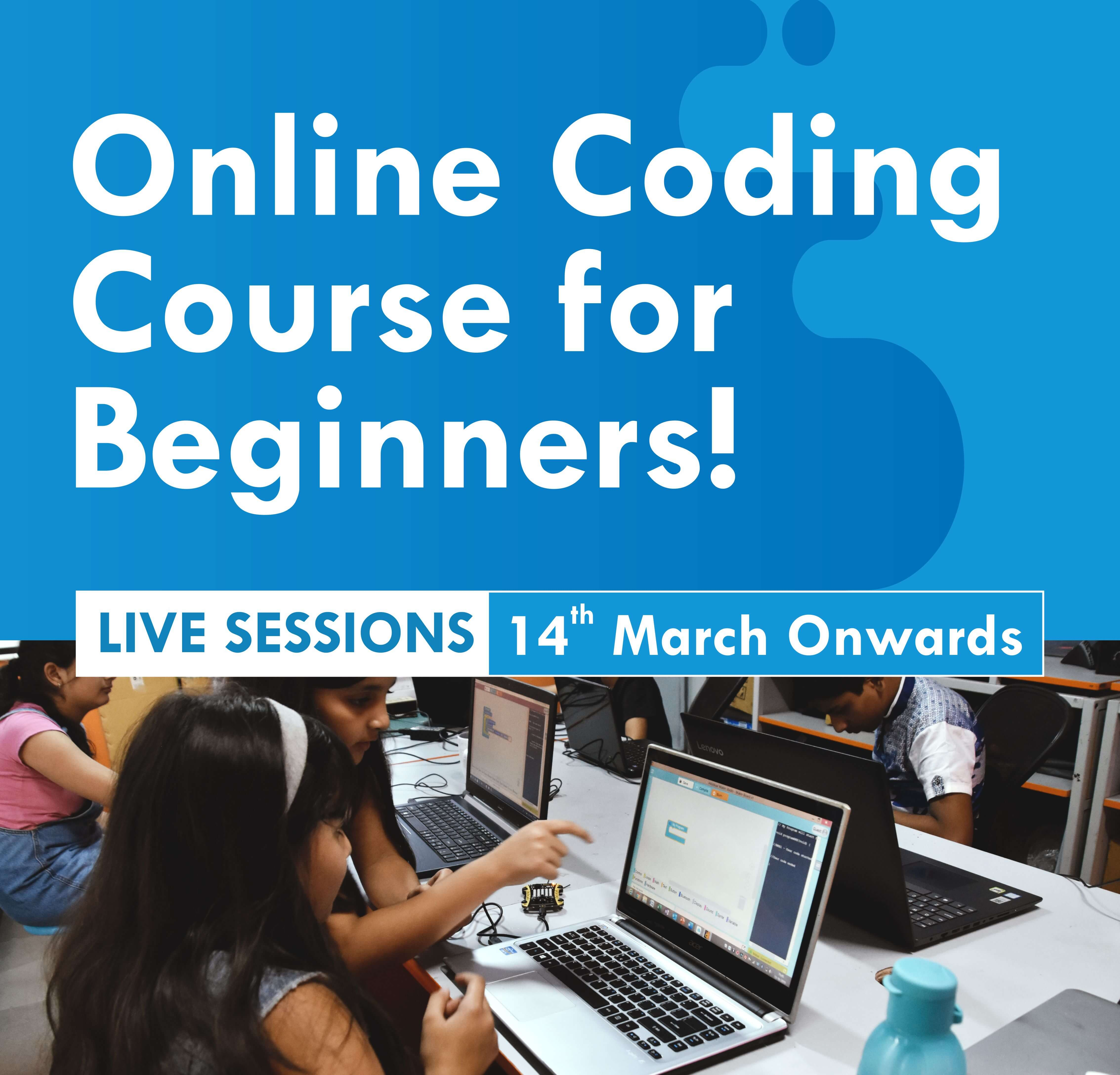 Online Coding Course for Beginners (Live Sessions) Thumbnail
