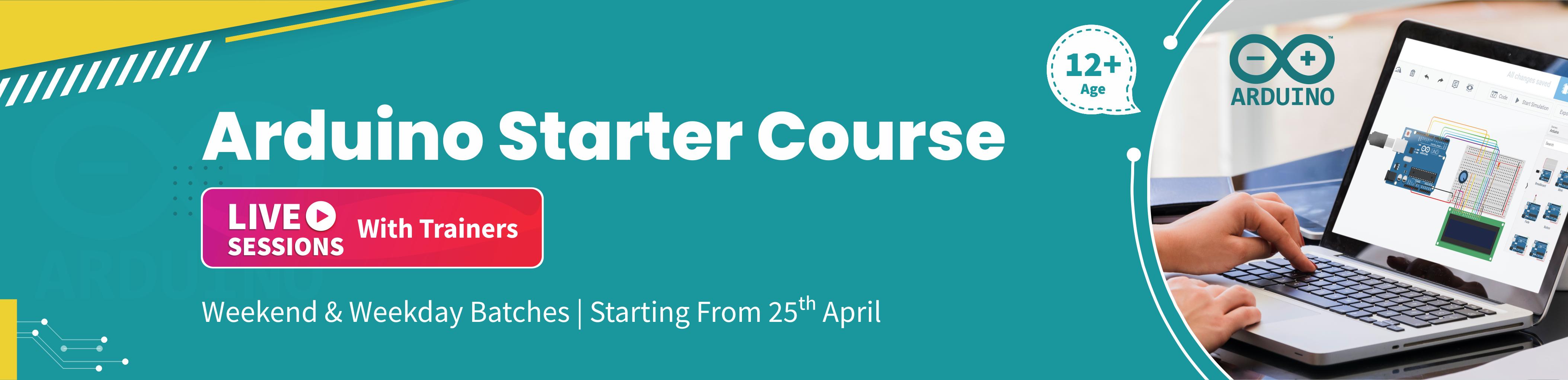 Arduino Starter Course banner