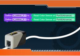 Steps to Make Program a line follower robot using a color sensor
