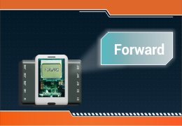 Steps to Make Program to display direction of rotation of motor on an LCD screen.