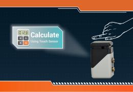 Steps to Make Program two Touch sensors to make a sensor driven calculator.