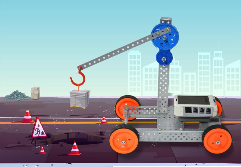 Steps to Make Robotic Crane