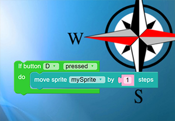 Steps to Make Make a program to move sprite in 4 directions