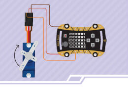 Steps to Make Create a remote app for the opening door using MIT App Inventor and Servo Motor.