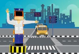 Steps to Make Traffic Policeman