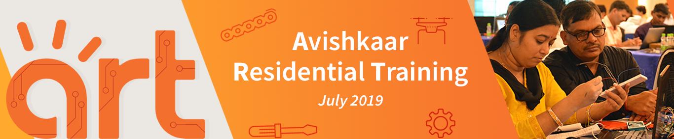 Avishkaar Residential Training banner