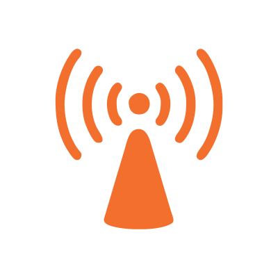 Wireless communication icon