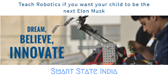Teach Robotics if you want your child to be the next Elon Musk