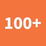 100+ kit parts