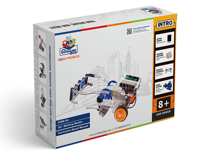 Avishkaar INTRO (E-Series) Robotics Kit