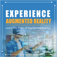 Experience Augmented Reality - Learn the magic of AR & VR Thumbnail
