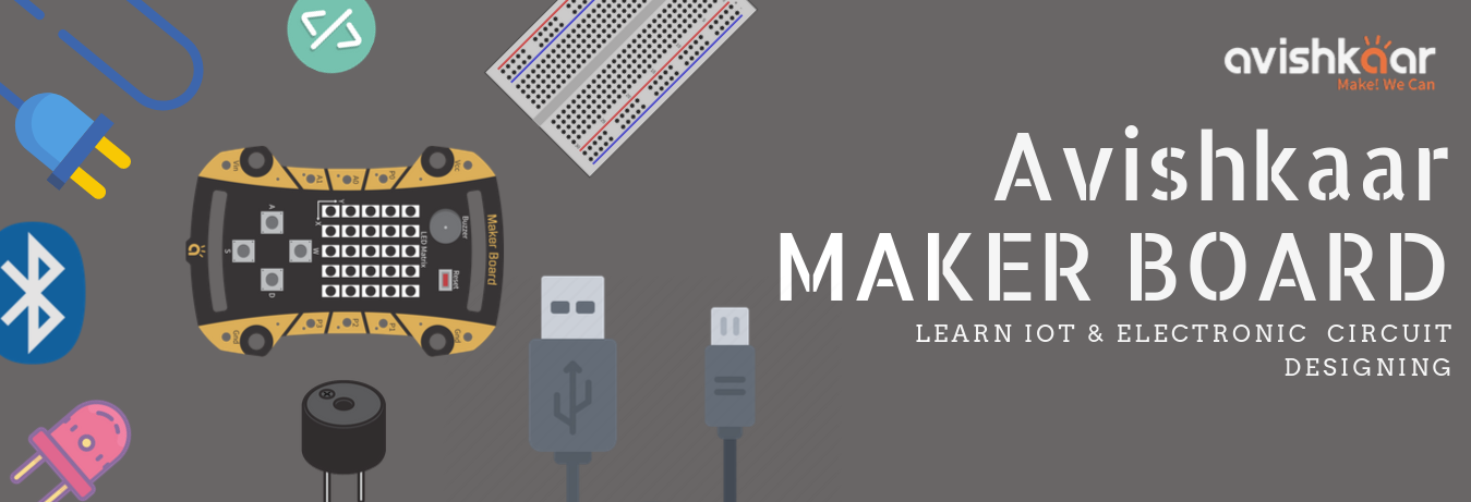 Learn IoT with Avishkaar MakerBoard banner