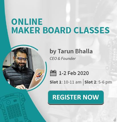 Online Maker Board Classes Thumbnail